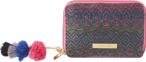 pom pom makeup bag